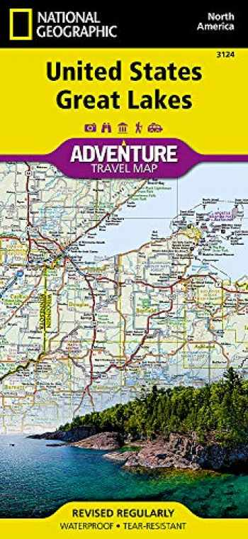 9781566957182-1566957184-United States, Great Lakes (National Geographic Adventure Map, 3124)