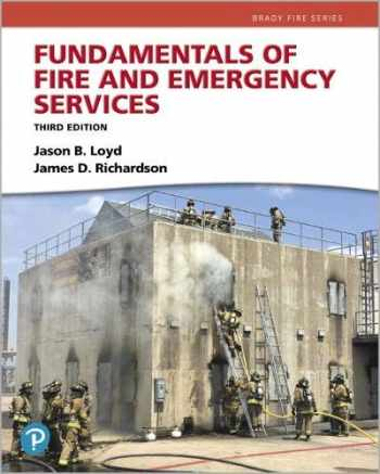 9780134989174-0134989171-Pearson eText Fundamentals of Fire and Emergency Services-- Access Card