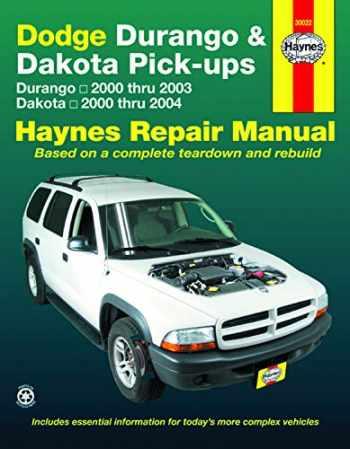9781563926778-1563926776-Dodge Durango 2000 thru 2003 & Dakota 2000 thru 2004 Pick-ups Haynes Repair Manual: Durango 2000 thru 2003 Dakota 2000 thru 2004 (Haynes Repair Manual (Paperback))
