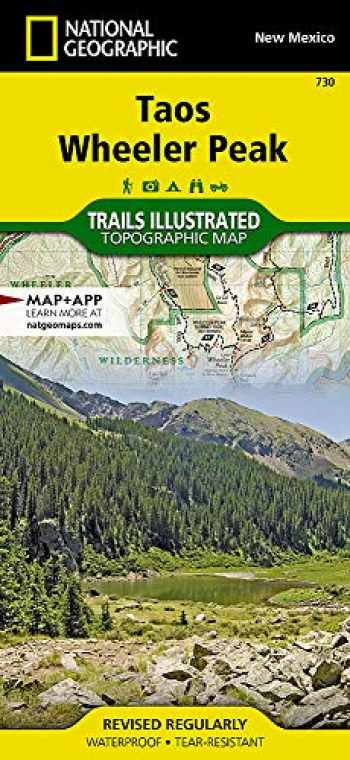 9781566953092-156695309X-Taos, Wheeler Peak (National Geographic Trails Illustrated Map, 730)
