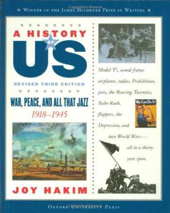 9780195307382-0195307380-War, Peace And All That Jazz: 1918-1945 (A History of US War, Book 9)