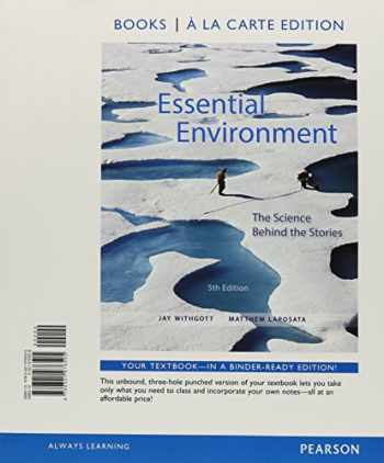 9780321976505-0321976509-Essential Environment: The Science Behind the Stories, Books a la Carte Edition (5th Edition)