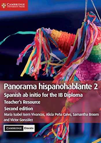 9781108766913-1108766919-Panorama hispanohablante 2 Teacher's Resource with Cambridge Elevate: Spanish ab initio for the IB Diploma (Spanish Edition)