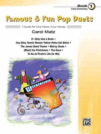 9780739045817-0739045814-Famous & Fun Pop Duets, Bk 1: 7 Duets for One Piano, Four Hands (Famous & Fun, Bk 1)