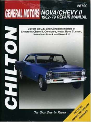 9780801990670-080199067X-Chevrolet Nova and Chevy II, 1962-79 (Chilton Total Car Care Series Manuals)