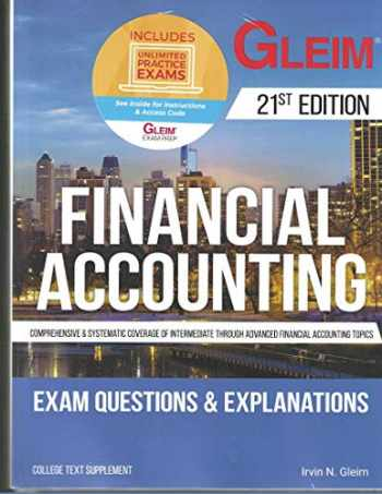 9781618543684-1618543687-Financial Accounting: Exam Questions and Explanations with Access Code, 21st edtion