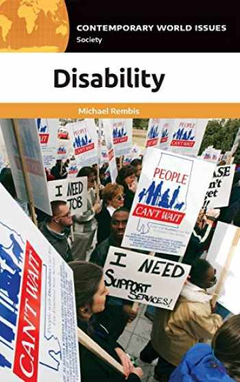 9781440862298-144086229X-Disability: A Reference Handbook (Contemporary World Issues)