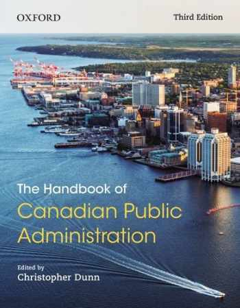 9780199026166-0199026165-The Handbook of Canadian Public Administration