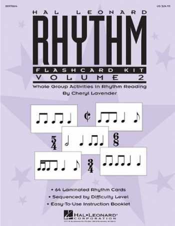 9781423490074-142349007X-Hal Leonard Rhythm Flashcard Kit, Volume 2: Whole Group Activities in Rhythm Reading