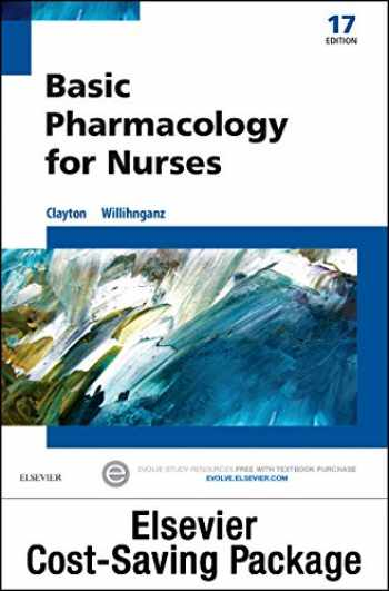9780323396127-0323396127-Basic Pharmacology for Nurses - Text & Study Guide Package
