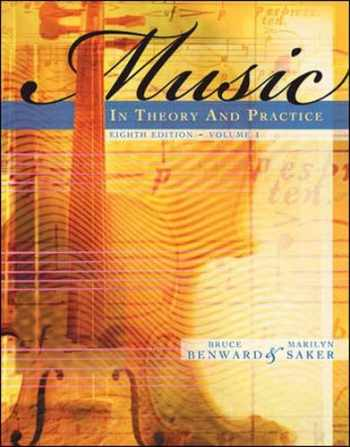 9780077254940-0077254945-Music in Theory and Practice, Volume 1 with Audio CD