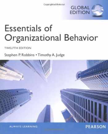 9780273787013-0273787012-Essentials of Organizational Behavior, Global Edition [Mar 07, 2013] Judge, Timothy A. and Robbins, Stephen P.