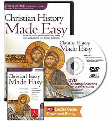 9781596365261-1596365269-Christian History Made Easy Leader Pack for Group or Individual study (12-session DVD)