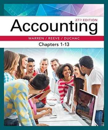 9781337272100-1337272108-Accounting, Chapters 1-13