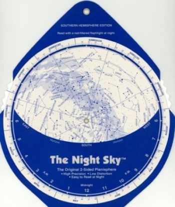 9780961320737-0961320737-The Night Sky, Southern Hemisphere (Large) Star Finder