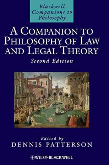9781405170062-1405170069-A Companion to Philosophy of Law and Legal Theory (Blackwell Companions to Philosophy, Vol. 8)