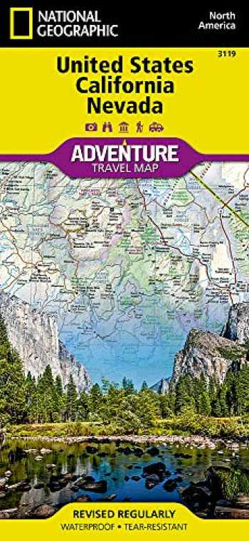 9781566957137-1566957133-United States, California and Nevada (National Geographic Adventure Map, 3119)