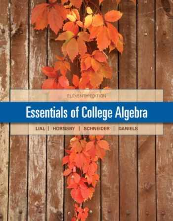 9780321912152-0321912152-Essentials of College Algebra with MyMathLab Pearson eText Access Card
