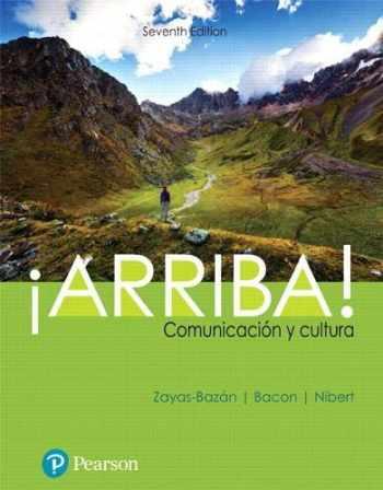9780134813738-0134813731-¡Arriba!: comunicación y cultura (What's New in Languages)