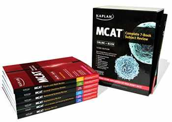9781506205595-1506205593-MCAT Complete 7-Book Subject Review: Online + Book (Kaplan Test Prep)