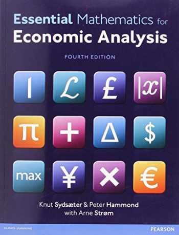 9780273760689-0273760688-Essential Mathematics for Economic Analysis (4th Edition)