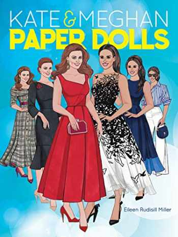 9780486834276-0486834271-Kate and Meghan Paper Dolls (Dover Paper Dolls)