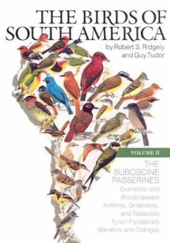 9780292770638-0292770634-The Birds of South America: Vol. II, The Suboscine Passerines