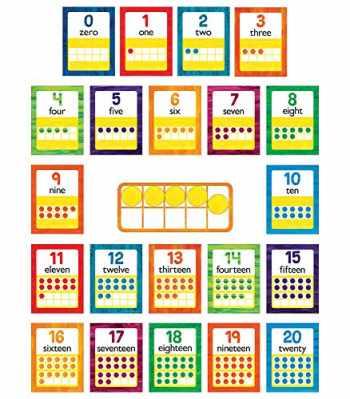 9781483854328-1483854329-World of Eric Carle™ Numbers 0-20 Bulletin Board Set