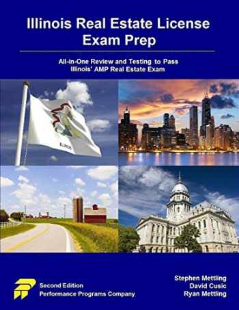 9780915777167-0915777169-Illinois Real Estate License Exam Prep: All-in-One Review and Testing To Pass Illinois' AMP Real Estate Exam