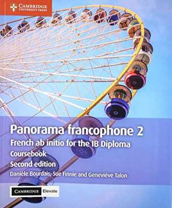 9781108760430-1108760430-Panorama francophone 2 Coursebook with Cambridge Elevate edition (2 Years): French ab initio for the IB Diploma (French Edition)