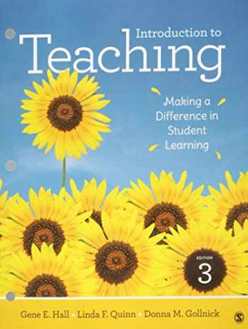 9781506393889-1506393888-Introduction to Teaching: Making a Difference in Student Learning