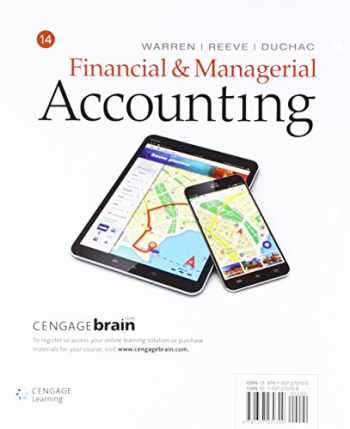 9781337591010-1337591017-Financial & Managerial Accounting