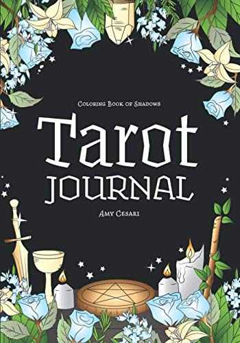 9781795727013-1795727012-Coloring Book of Shadows: Tarot Journal