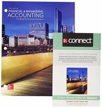 9781260149197-1260149196-GEN COMBO LOOSELEAF FINANCIAL AND MANAGERIAL ACCOUNTING; CONNECT ACCESS CARD