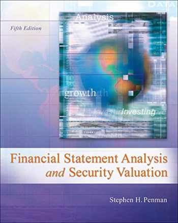 9780078025310-0078025311-Financial Statement Analysis and Security Valuation