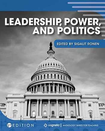 9781516597048-1516597044-Leadership, Power, and Politics