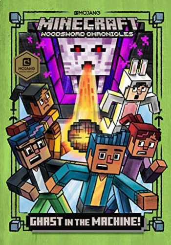 9781984850621-1984850628-Ghast in the Machine! (Minecraft Woodsword Chronicles #4) (A Stepping Stone Book(TM))