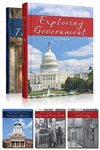 9781609991333-1609991338-Exploring Government Curriculum and Student Review Pack