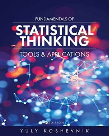 9781516511624-151651162X-Fundamentals of Statistical Thinking: Tools and Applications