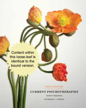 9781285419053-1285419057-Cengage Advantage Books: Current Psychotherapies
