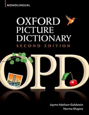 9780194369763-0194369765-Oxford Picture Dictionary (Monolingual English)