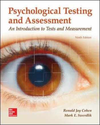 9781259870507-1259870502-Psychological Testing and Assessment