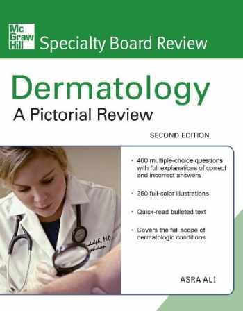 9780071597272-0071597271-McGraw-Hill Specialty Board Review Dermatology: A Pictorial Review, Second Edition