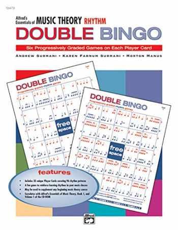 9780739018705-0739018701-Alfred's Essentials of Music Theory: Rhythm Double Bingo