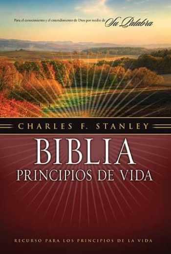 9781602550940-1602550948-Biblia principios de vida del Dr. Charles F. Stanley (Spanish Edition)