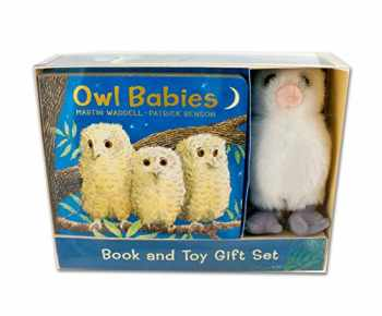 9780763688981-0763688983-Owl Babies Book and Toy Gift Set