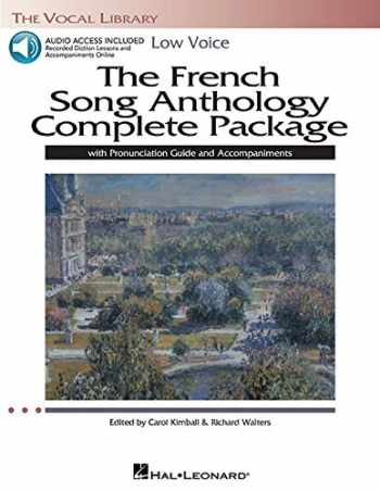 9781480329669-1480329665-The French Song Anthology Complete Package - Low Voice: Book/Pronunciation Guide/Accompaniment Audio Online The Vocal Library