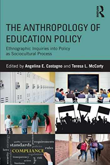 9781138119635-1138119636-The Anthropology of Education Policy
