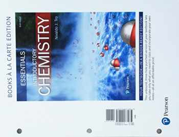 9780134555584-0134555589-Introductory Chemistry Essentials, Books a la Carte Edition (6th Edition)