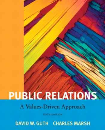 9780205811809-0205811809-Public Relations: A Value Driven Approach (5th Edition)